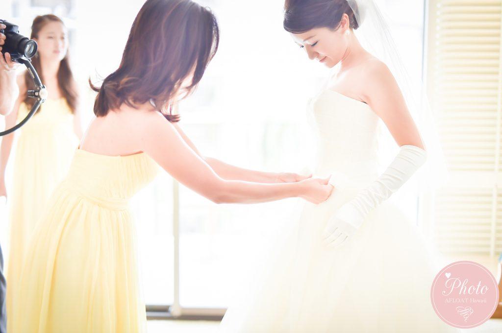 ブライズメイド 結婚式当日の役割