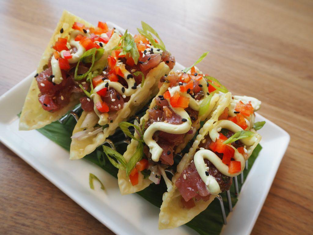Ahi Tuna Tacos