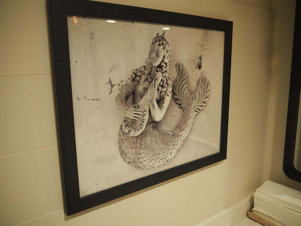 Tommy Bahama 人魚壁絵