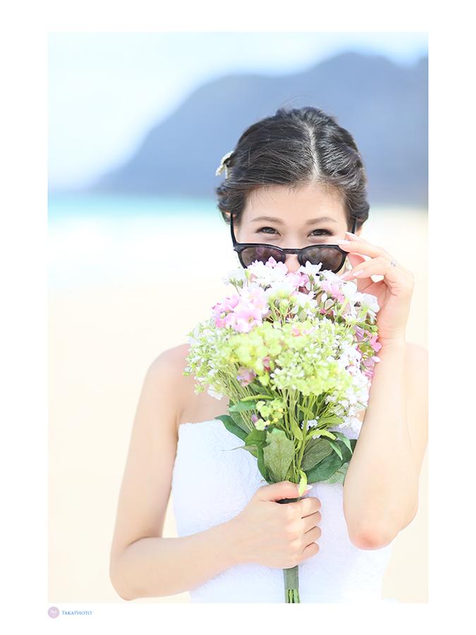 花嫁 サングラス 可愛い