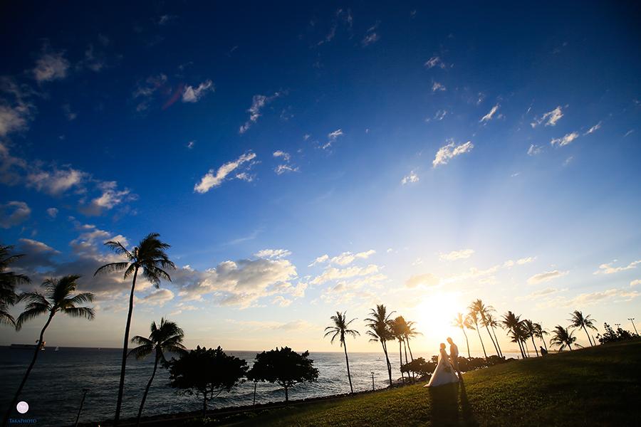 ハワイ カカアコ 撮影スポット