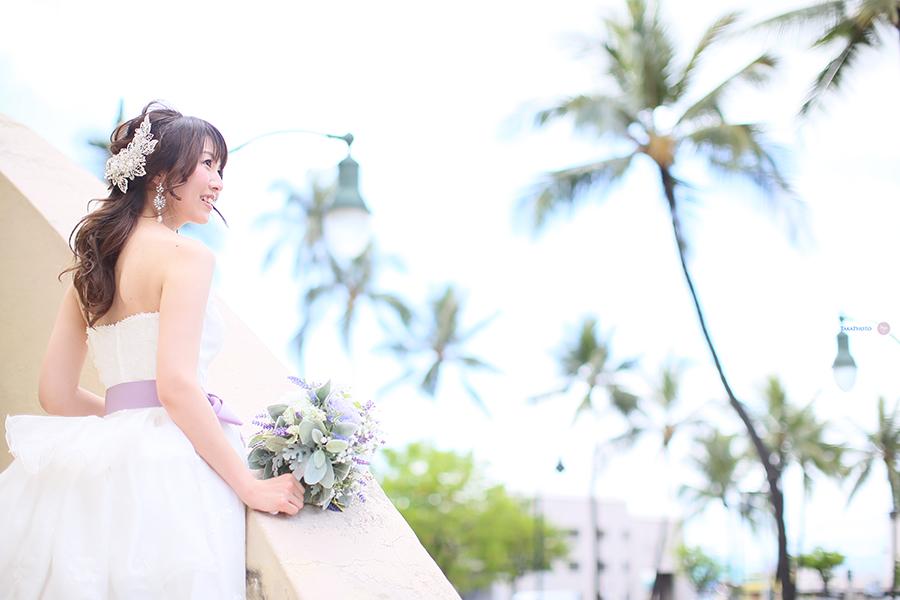 花嫁 ウェディンドレス ハワイ