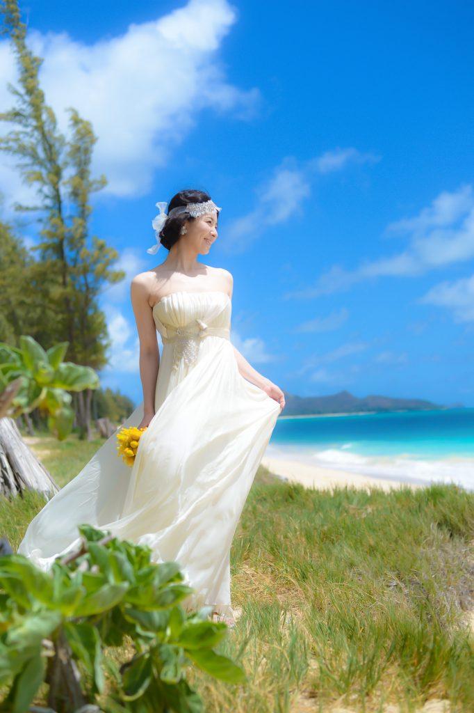 ハワイウェディング Photo by Goerge (AFLOAT Hawaii)