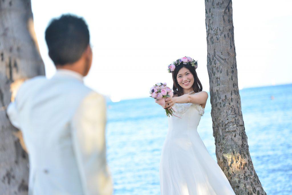 ハワイフォトツアー 花嫁のポーズ Photo by MARU (AFLOAT Hawaii)