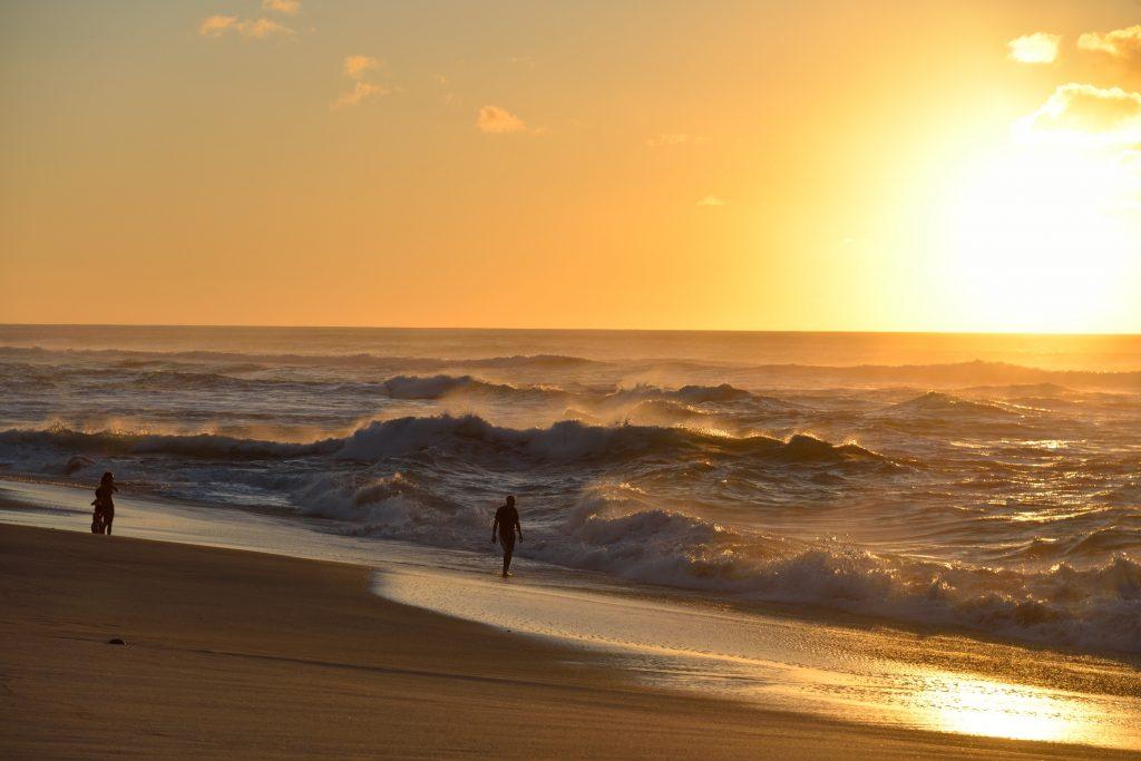 ハワイサンセット まる Photo by MARU (AFLOAT Hawaii)