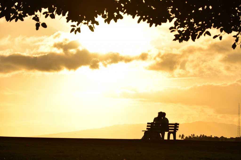 フォトツアーサンセット Photo by MARU (AFLOAT Hawaii)