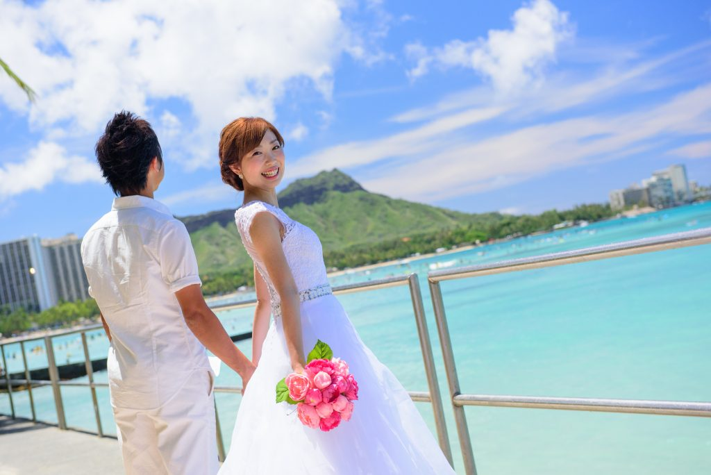 ハワイフォトウェディング Photo by MARU (AFLOAT Hawaii)