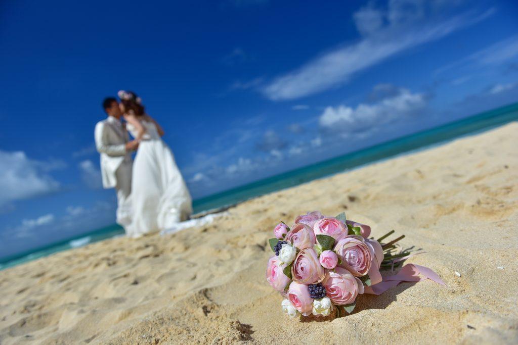 ハワイフォトツアー ブーケとビーチ Photo by MARU (AFLOAT Hawaii)