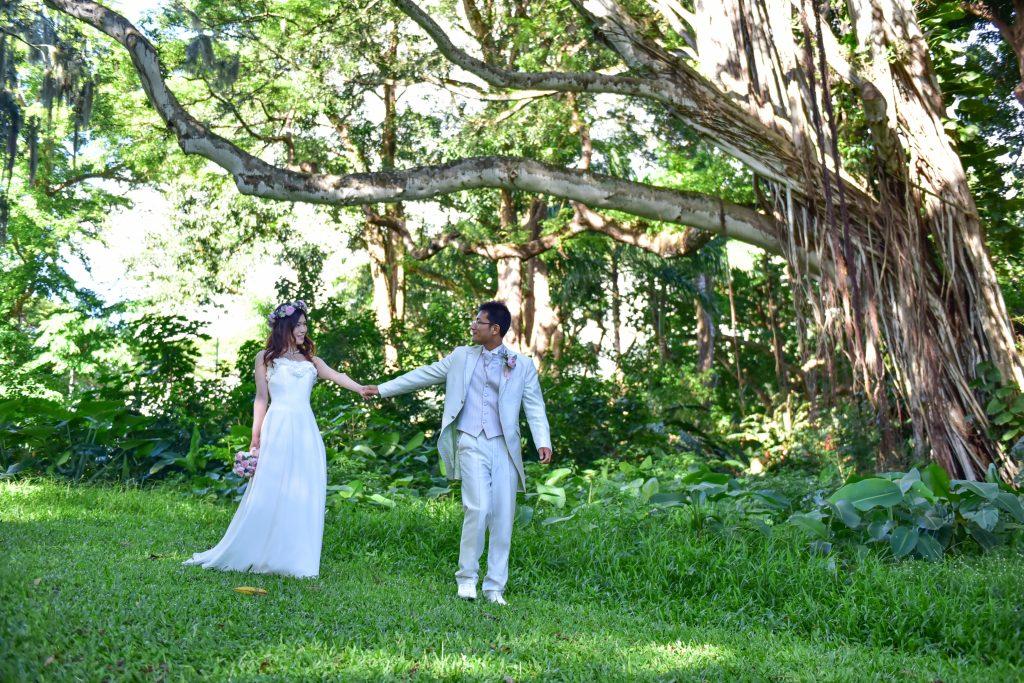 カメラマンMARU ハワイフォトツアー ヌアヌバレーパーク Photo by MARU (AFLOAT Hawaii)