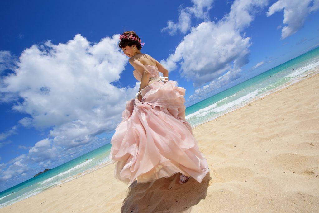 ハワイウェディング ワイマナロ カメラマンMARU Photo by MARU (AFLOAT Hawaii)