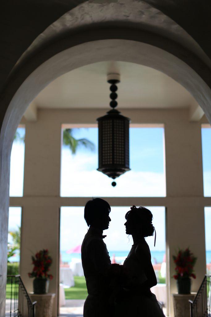 ハワイ挙式 アフロートハワイ ホテル撮影