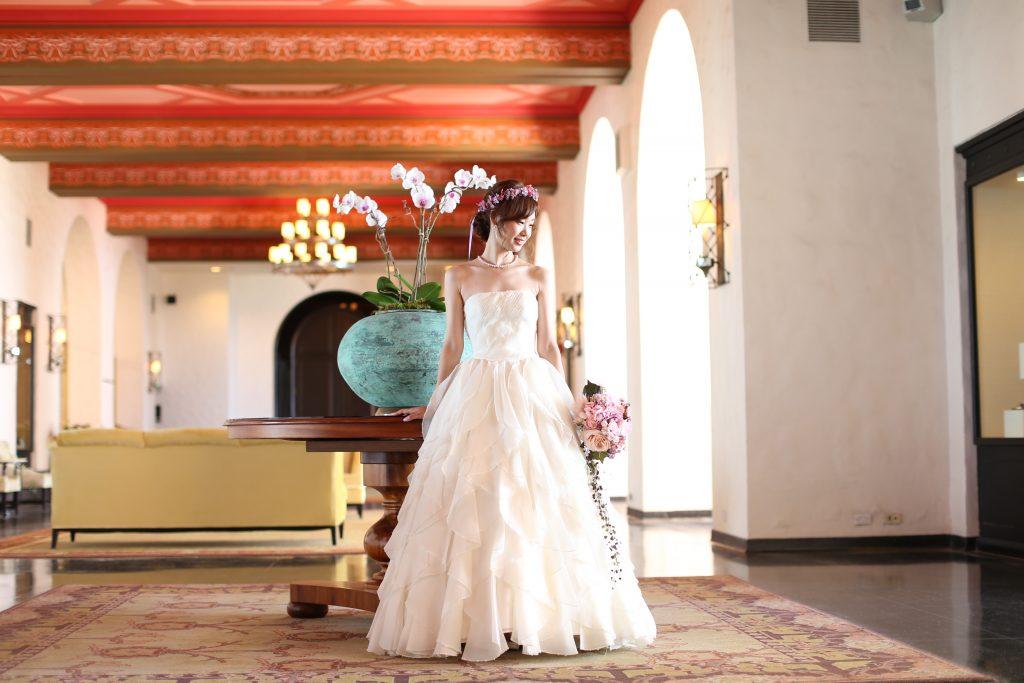 ハワイフォトツアー 大人可愛い花嫁さま