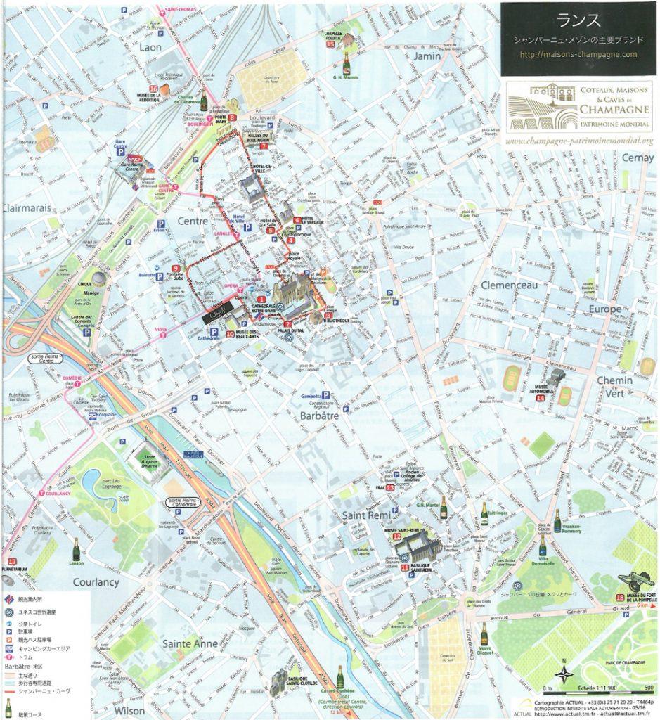ランス地図