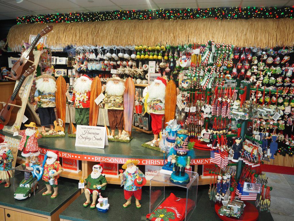 ハワイ 冬 クリスマスオーナメント オシャレ