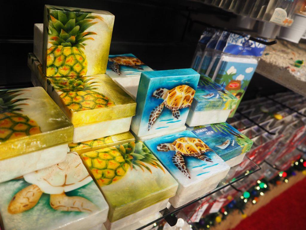 ハワイ土産 シェル 置物 ハワイアン