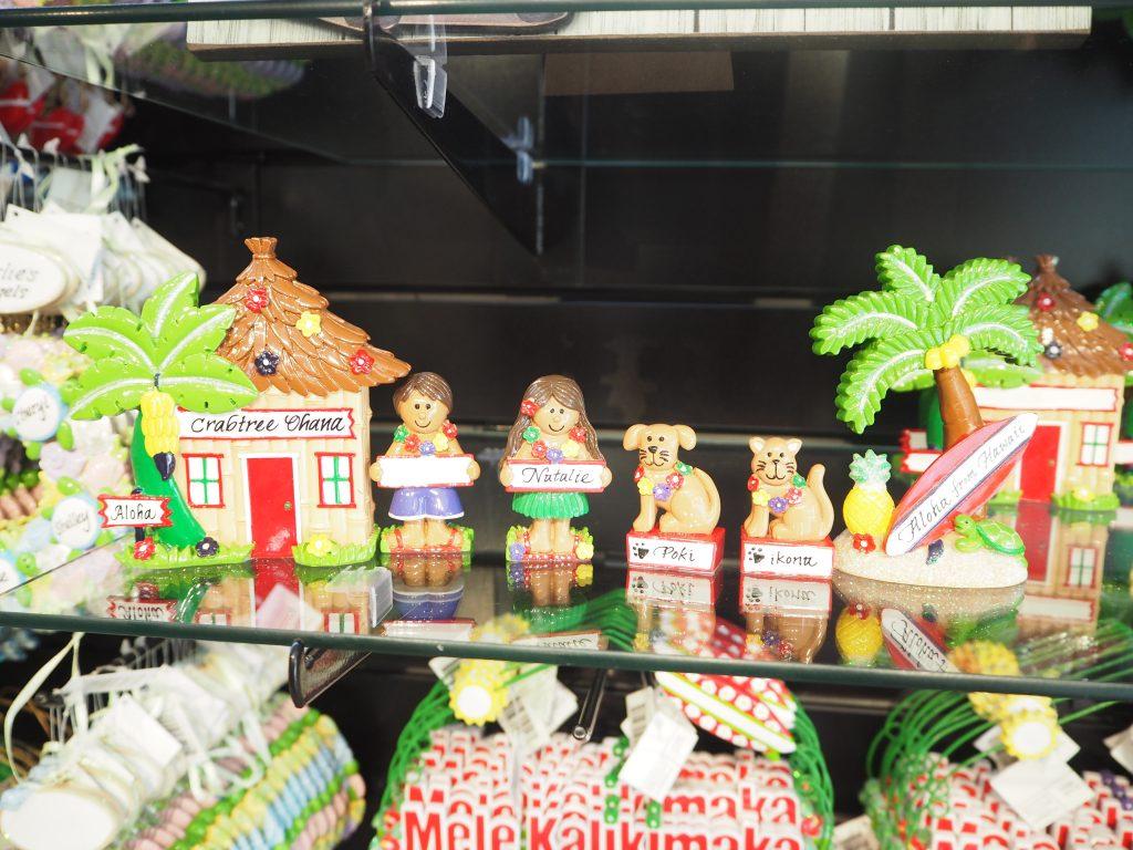 ハワイ 家族旅行 お土産 置物