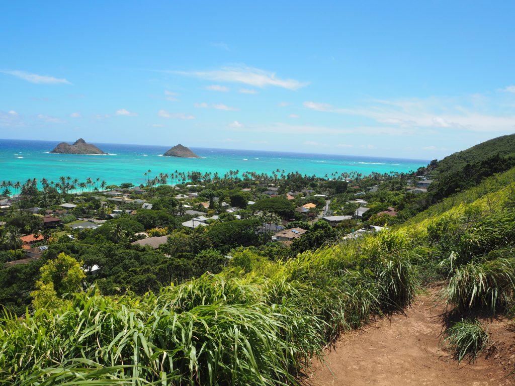 ハワイ双子島 モクルア島