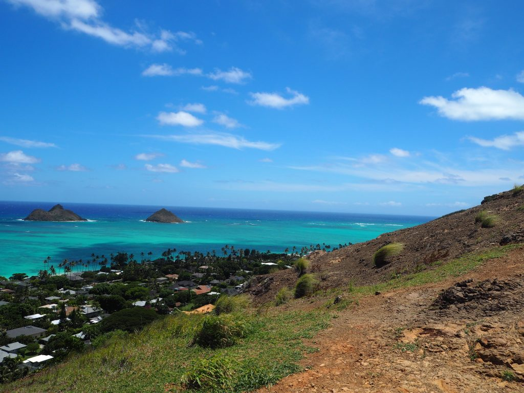 ハワイ絶景 ラニカイビーチ