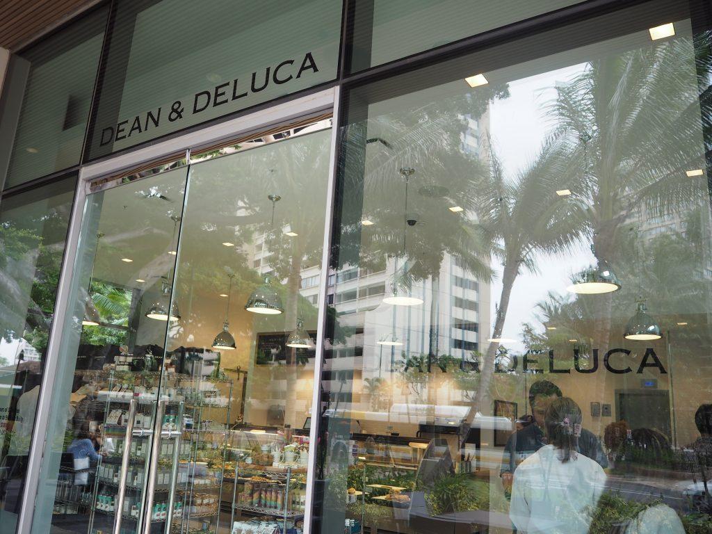 ハワイディーン&デルカ お洒落なガラス張り