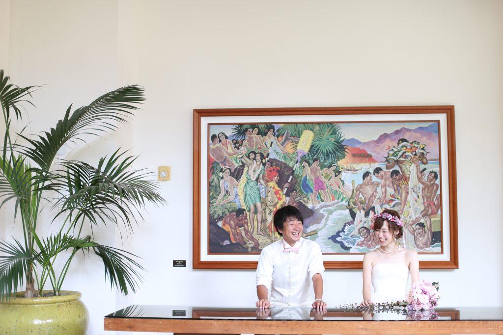 ロイヤルハワイアンホテル フォトウェディング カメラマンMAKO
