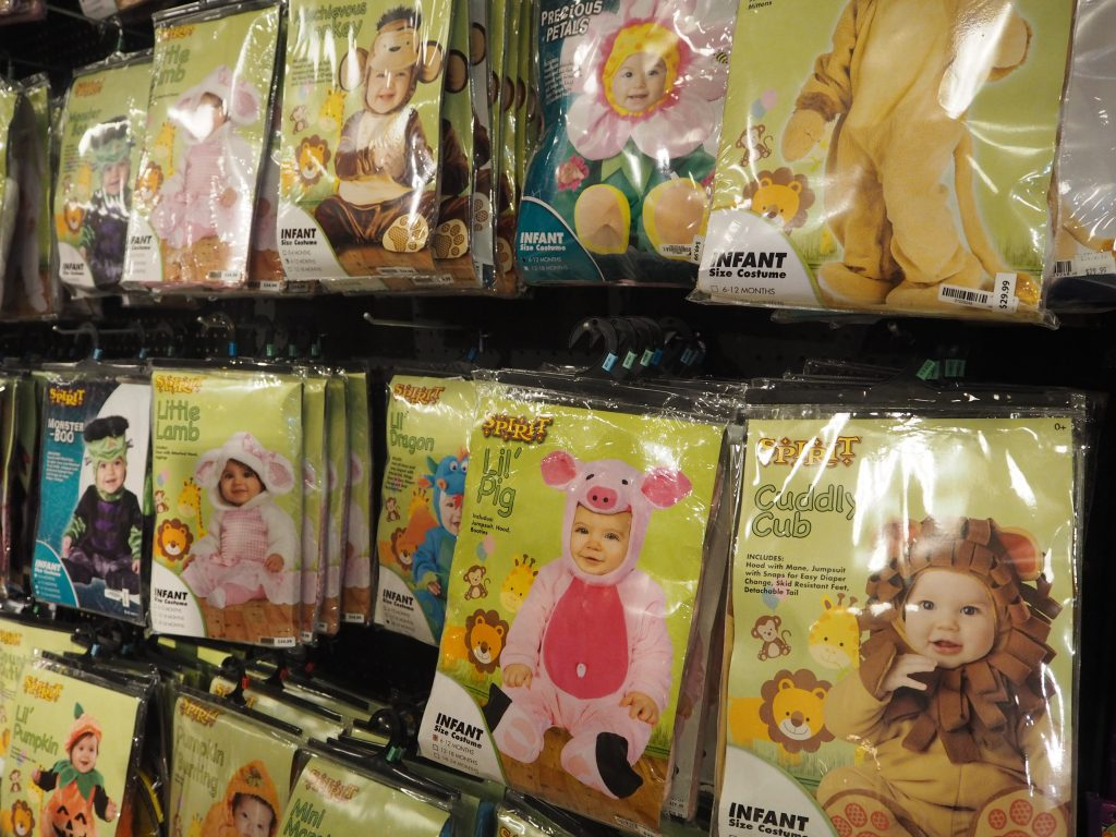アラモアナショッピングセンター ハロウィンコスプレ子供用
