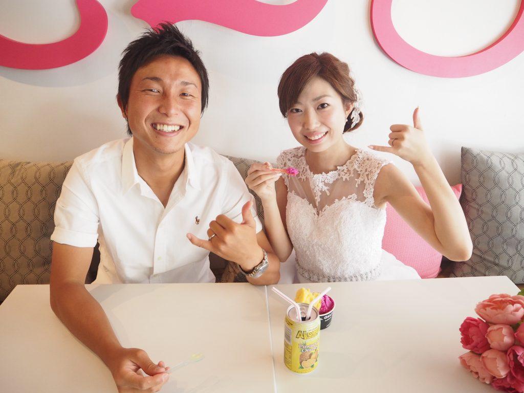 ハワイカメラマン MARU ダウンタウン撮影 CAKE ENVY