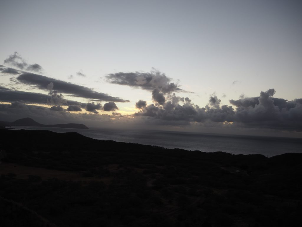 ハワイ 景色 日の出