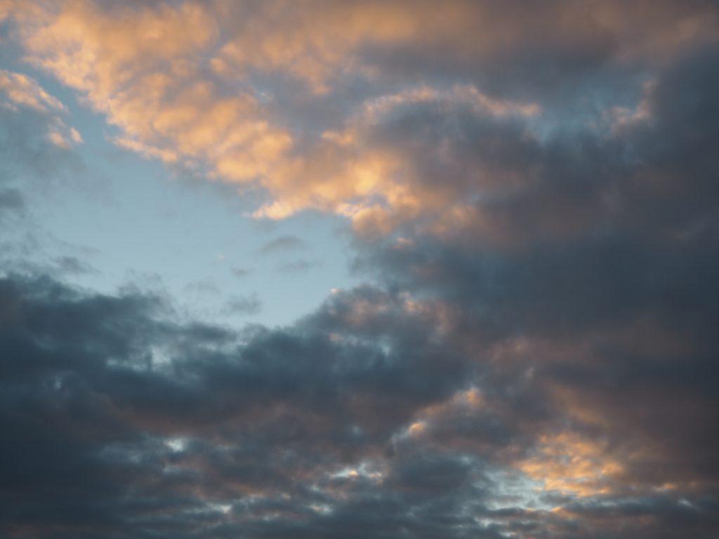 雲 ピンク 景色 ハワイ旅行