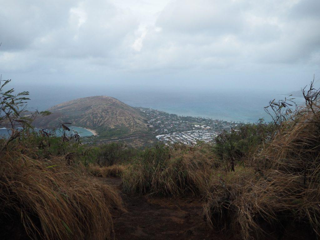 ハナウマベイ ハワイ ココヘッドトレイル 景色