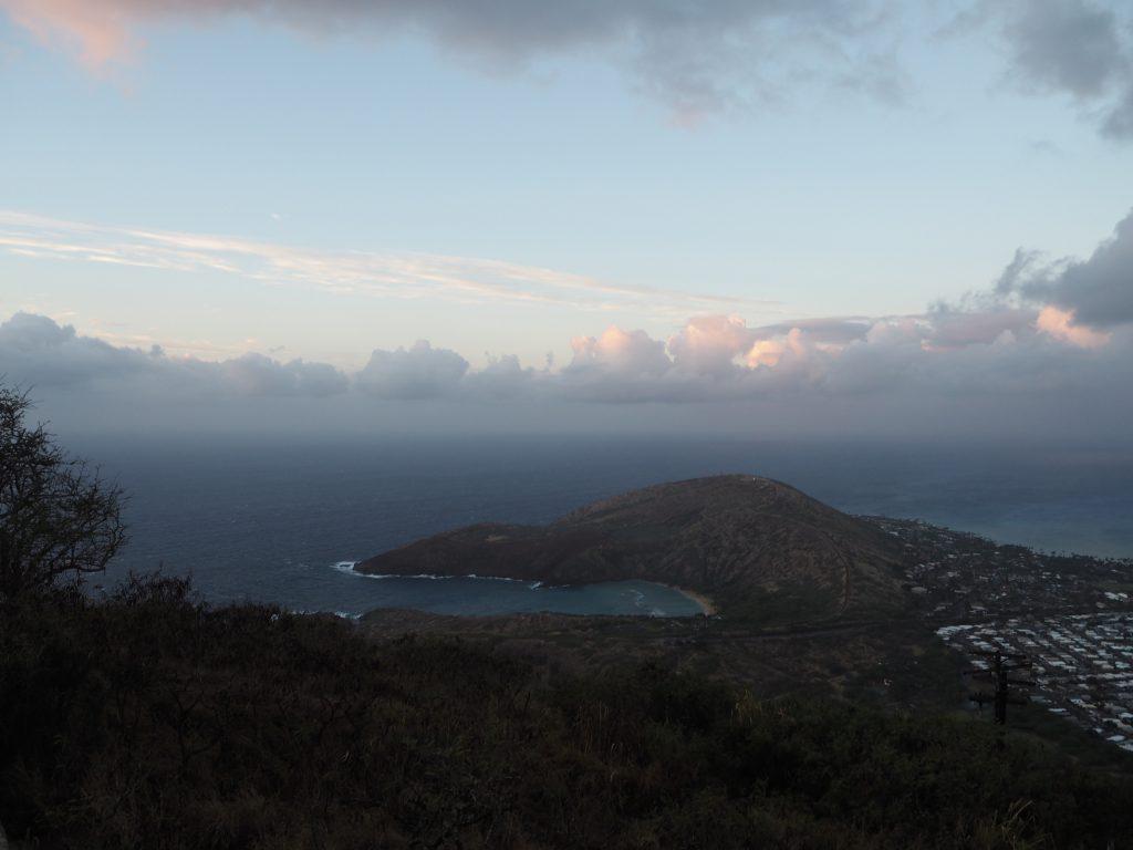 日の出 ハワイ 山頂