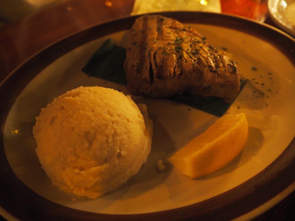 ハワイ夕飯 新鮮 シーフード
