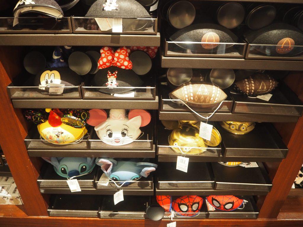 海外 ディズニー 限定 帽子