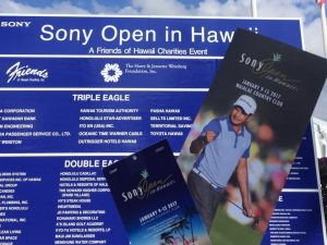 SonyOpen in Hwaii 2017