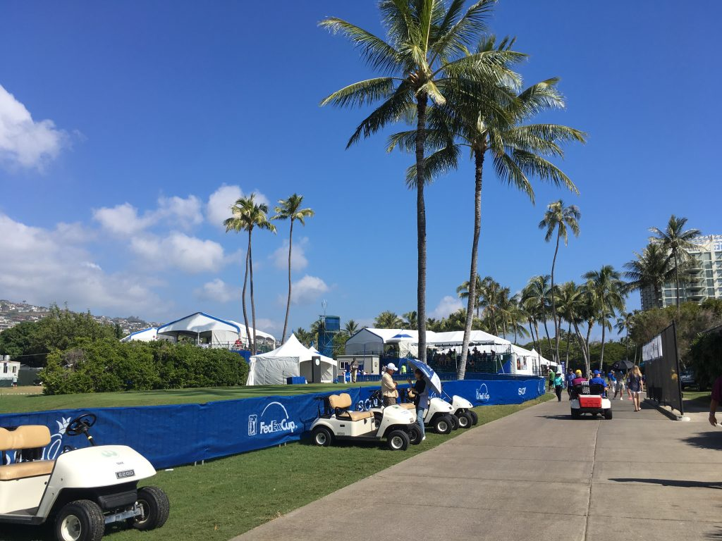 Sony Open in Hawaii 2017 1番ホール