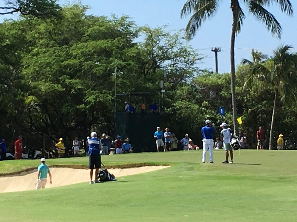 松山英樹 グリーン Sony Open in Hawaii 2017