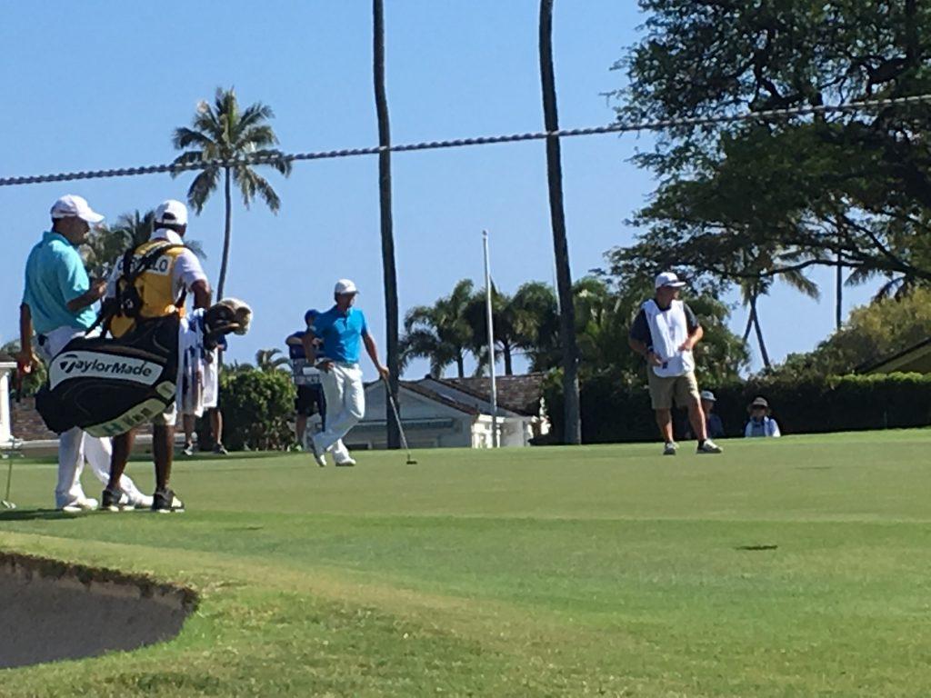 宮里優作 グリーン Sony Open in Hawaii 2017