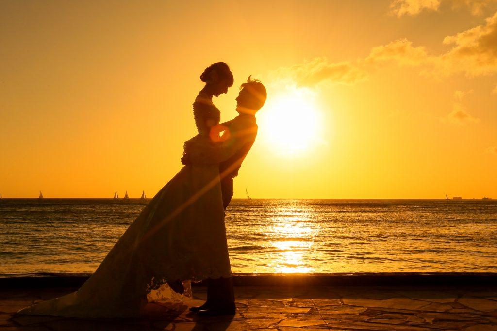 ハワイ サンセット 絆
