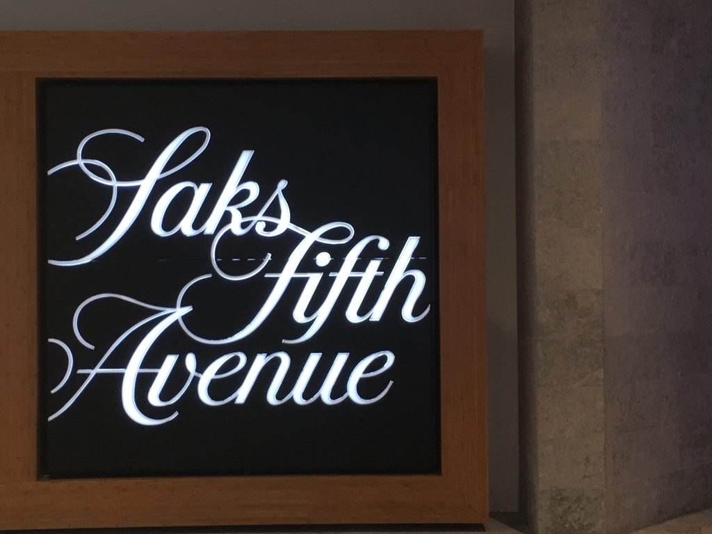 Saks Fifth Avenue ハワイ初上陸