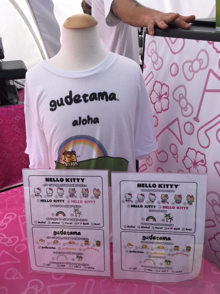 キティちゃん限定Tシャツ Sony Open in Hawaii 2017