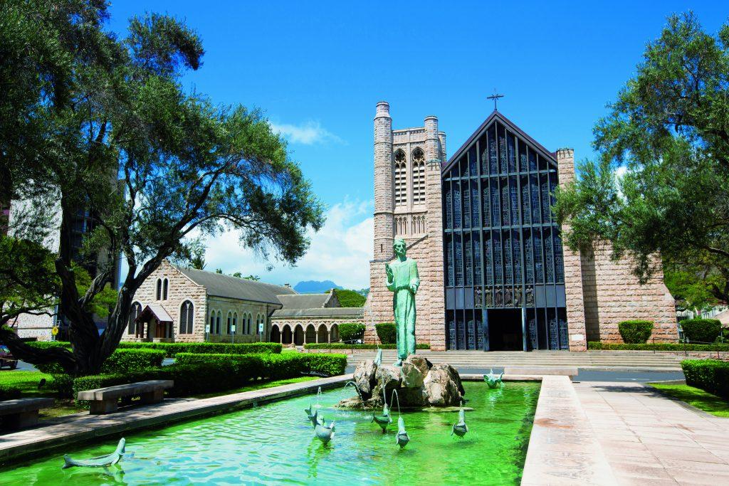 クチュールナオコ ハワイウェディング 教会