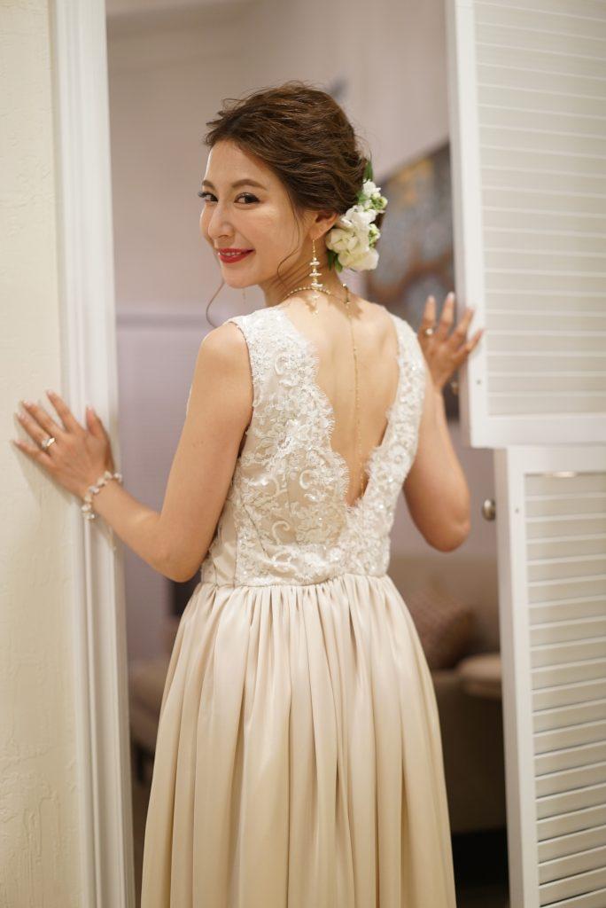 仲村美香 モデル ハワイ挙式 ハワイレセプション