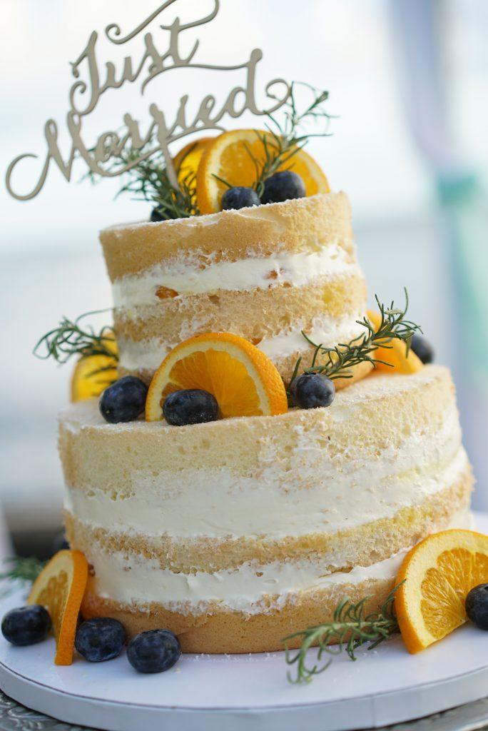 ハワイ ウェディングケーキ 可愛い 人気