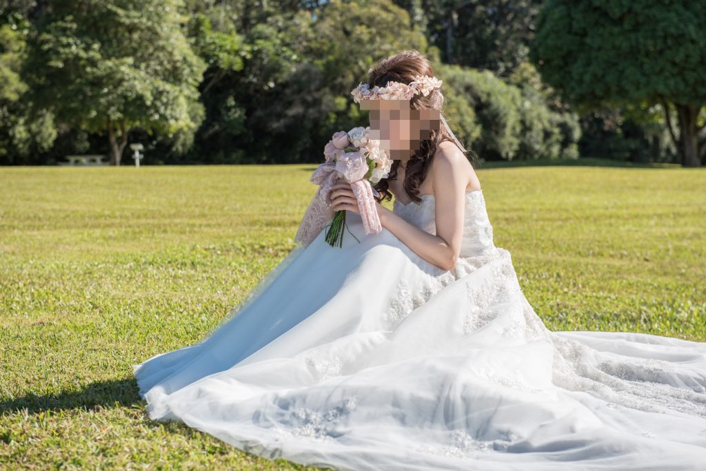 ハワイ挙式 花嫁 ハワイヘアメイク