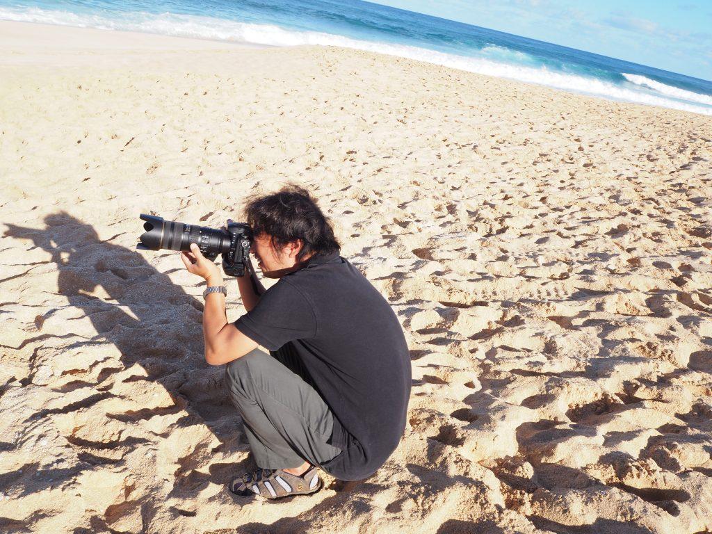 ハワイ ノースショア ビーチウェディング 撮影