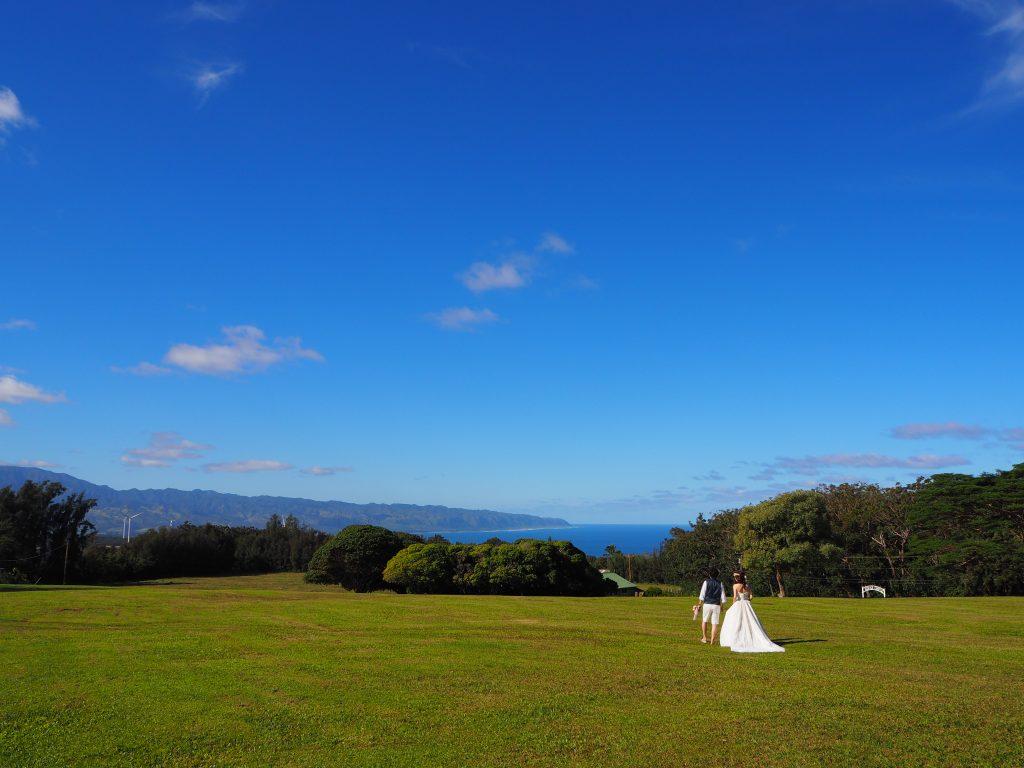 サンセットランチ ノースショア ハワイ 撮影