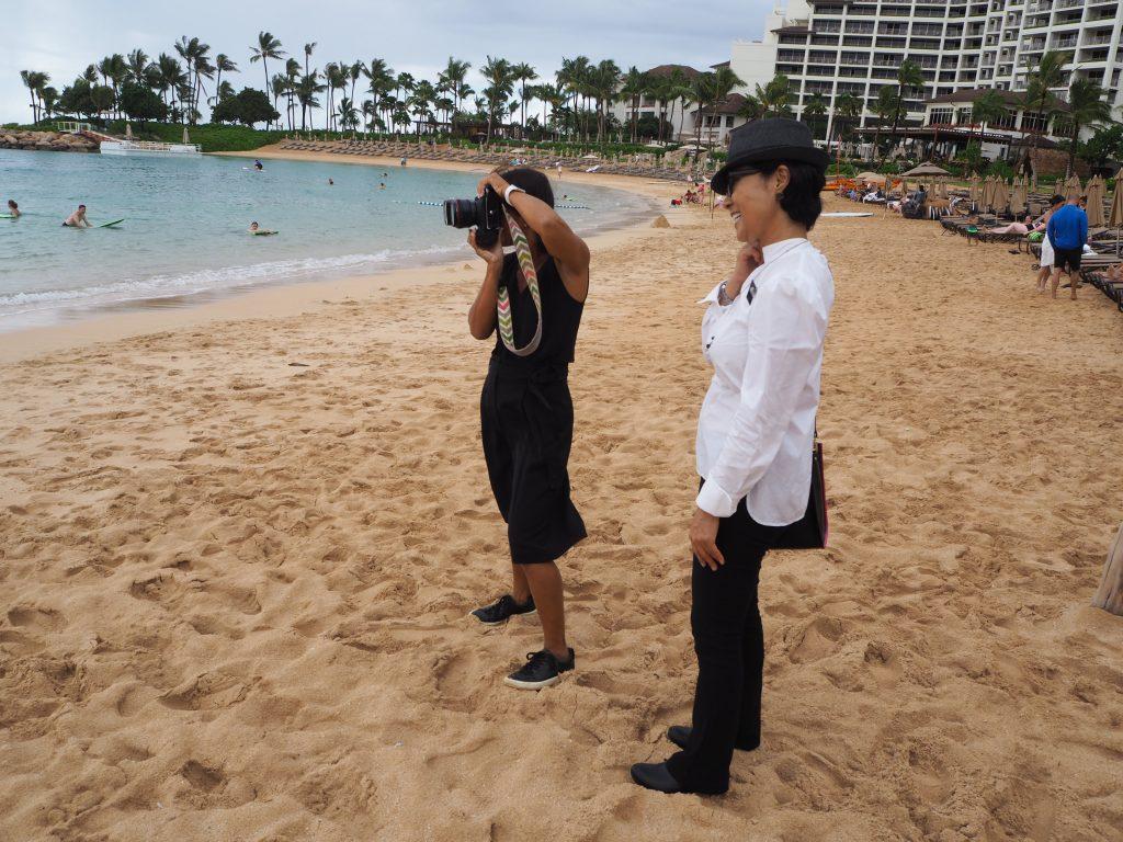 AFLOAT Hawaii フォトツアー ヘアメイク帯同