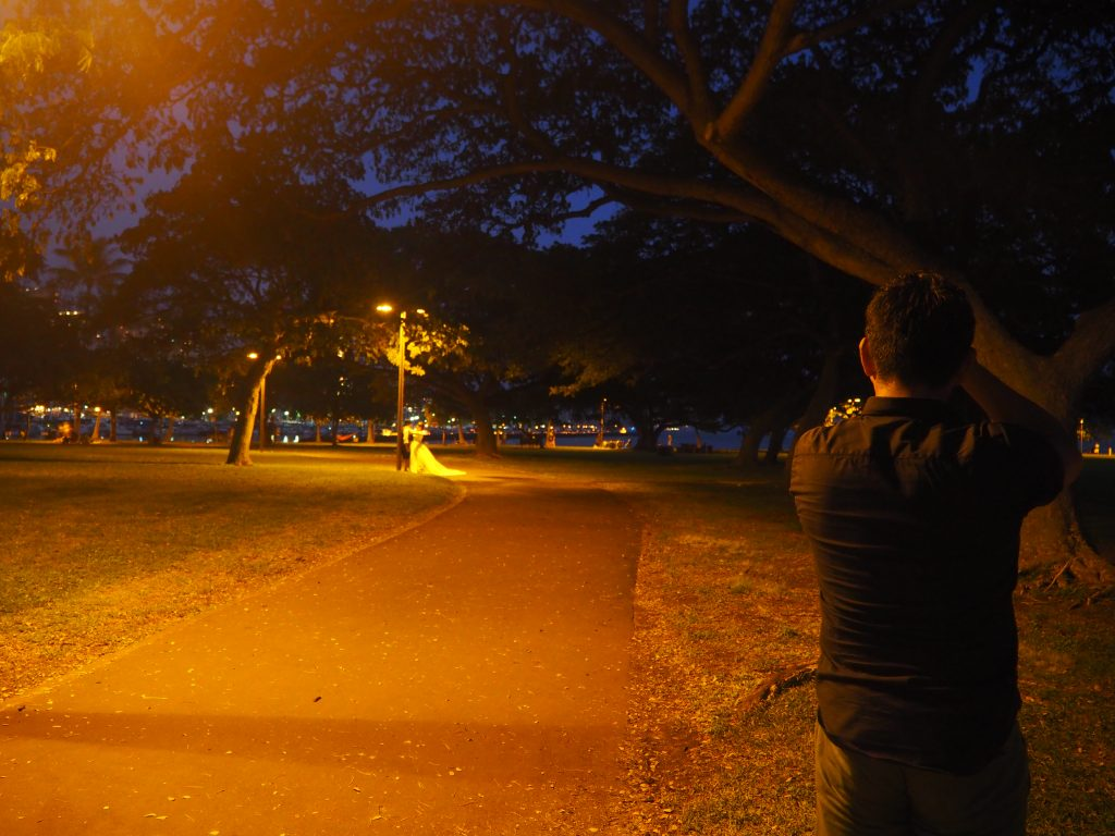Laulea Night Photo Session カメラマンTAKA フォトウェディング
