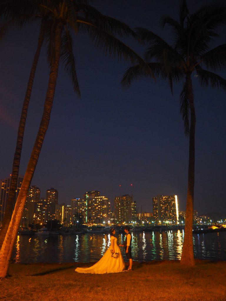 夜景 ハワイ 絶景 ハワイフォトツアー