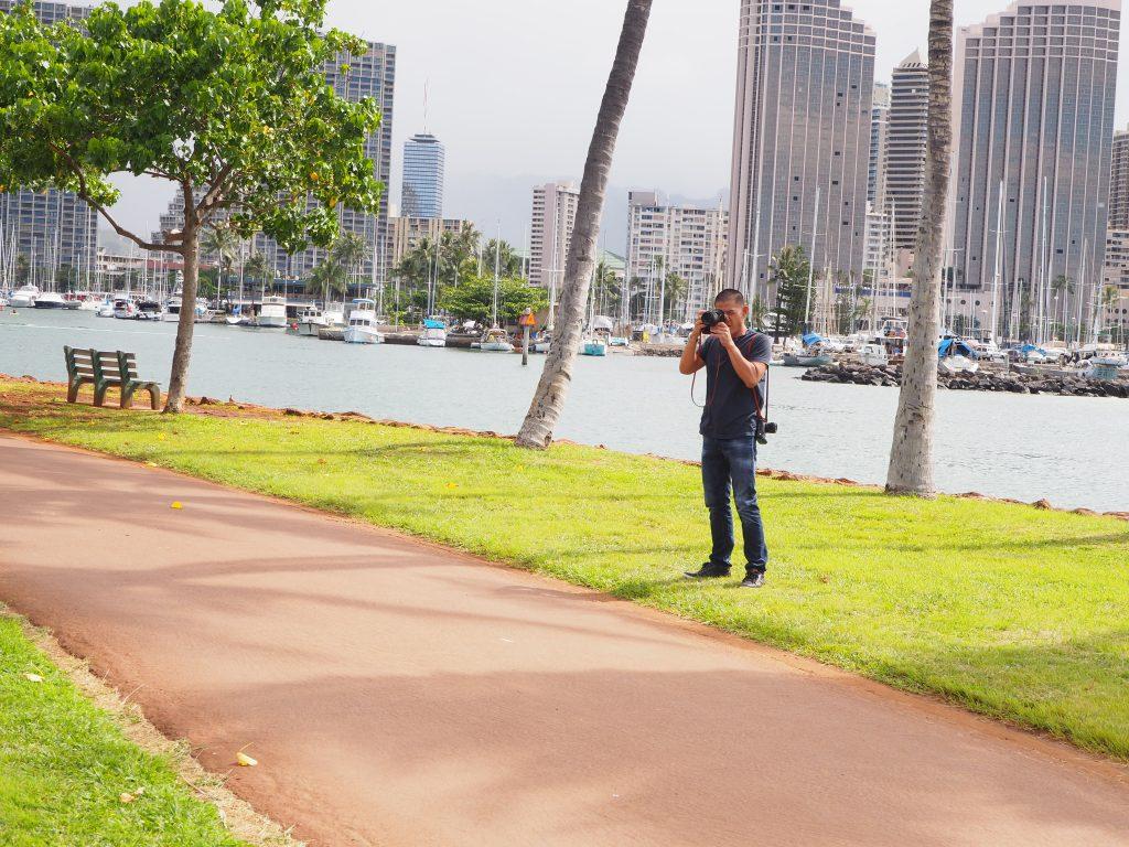 カメラマン ハワイ 人気 George