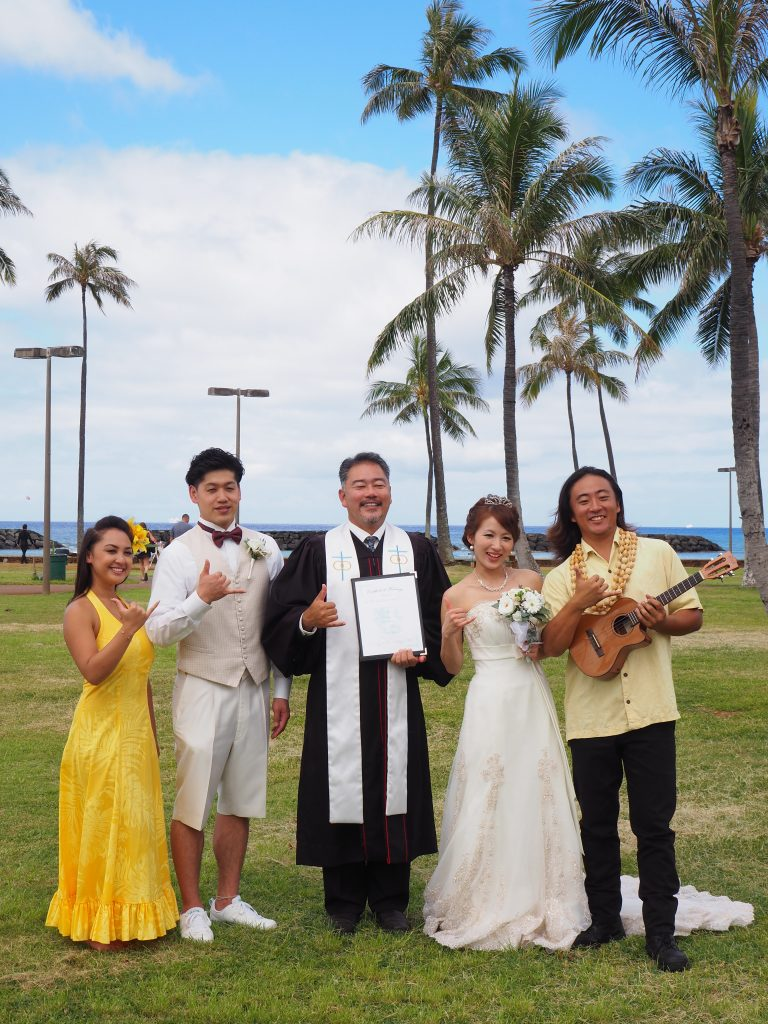 ハワイ 結婚式 ビーチ おすすめ